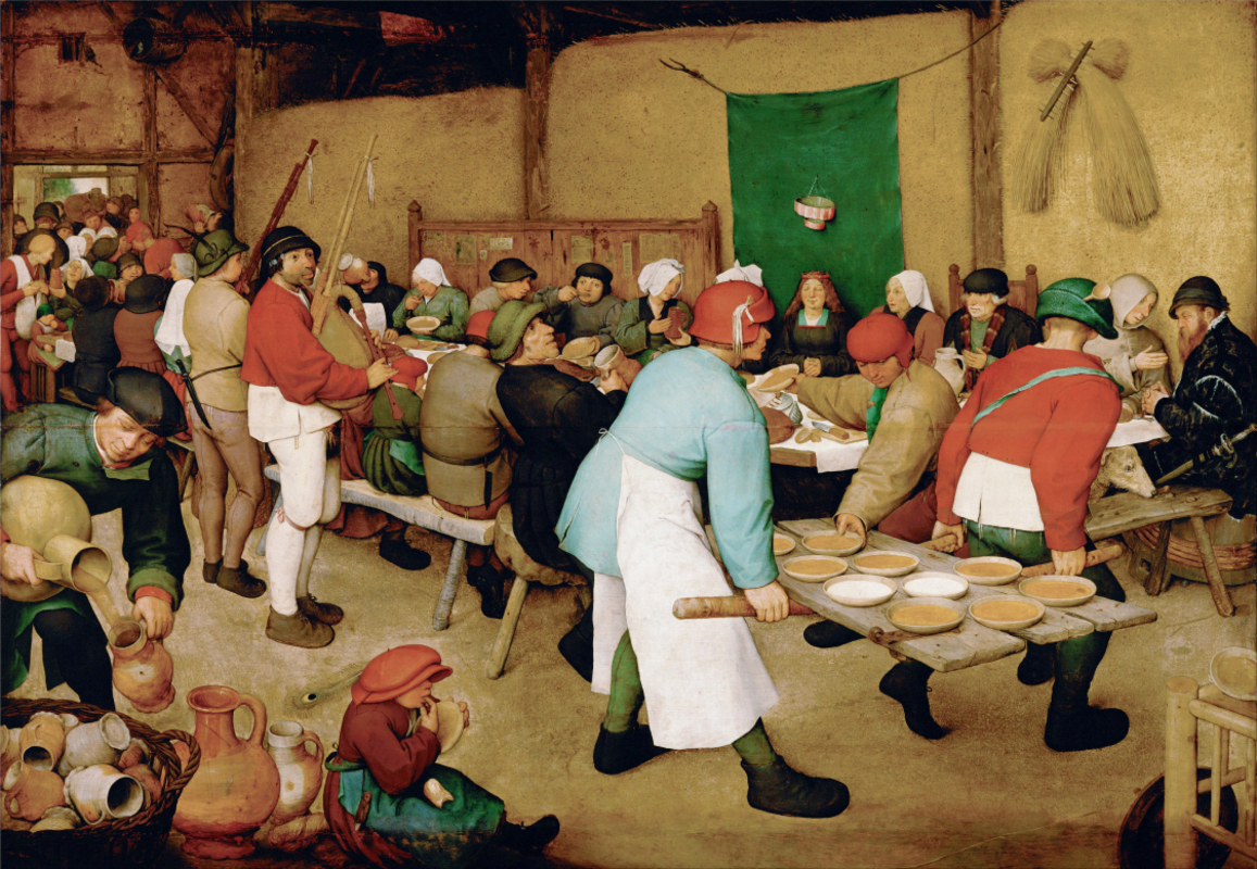 Pieter Brueghel - Peasant Wedding
