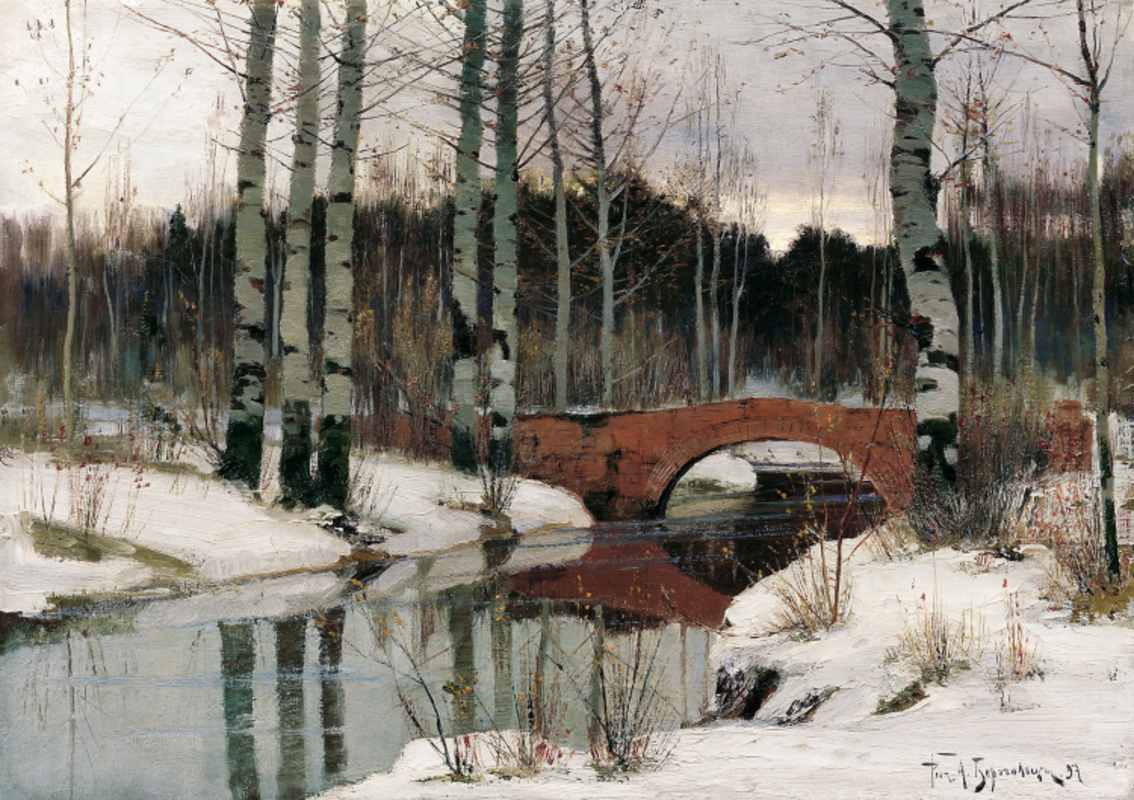 Richard Berggoltz - Thaw in Gatchina