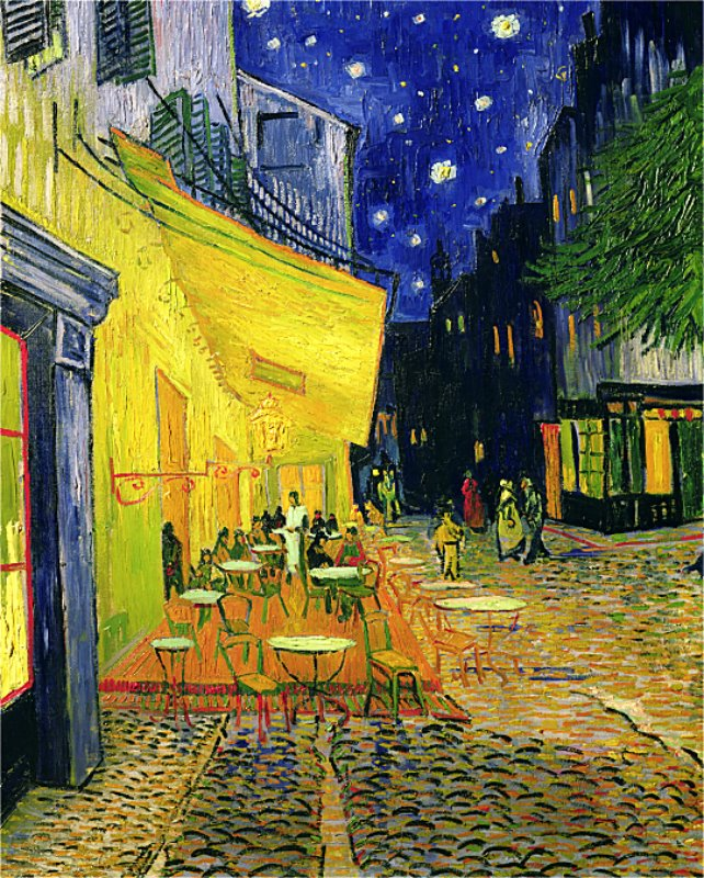 Vincent van Gogh - CAFE TERRACE, PLACE DU FORUM, ARLES