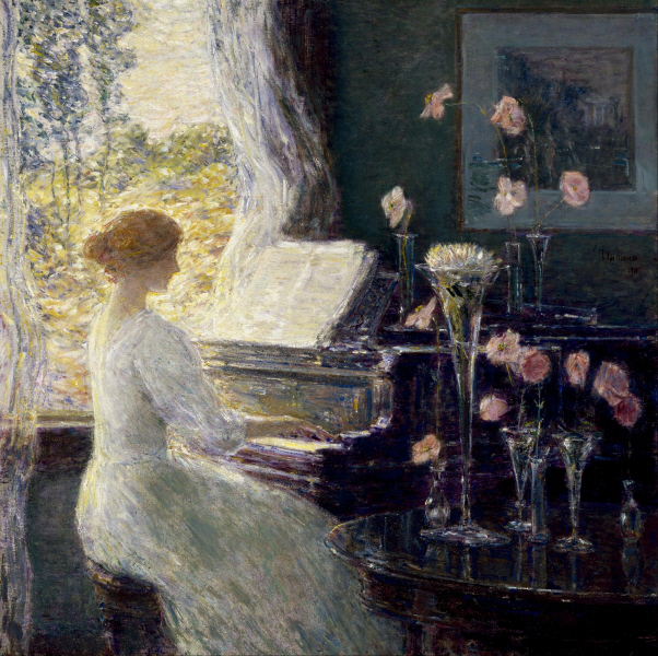 Childe Hassam - The Sonata