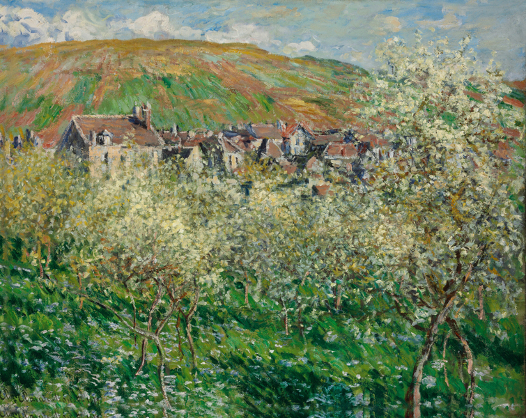Claude Monet - Flowering Plum Trees