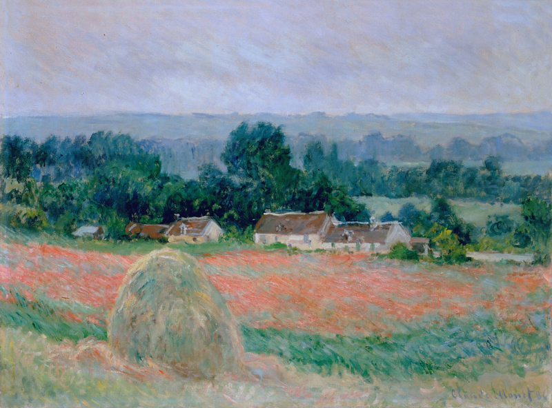 Claude Monet - Haystack at Giverny, 1886