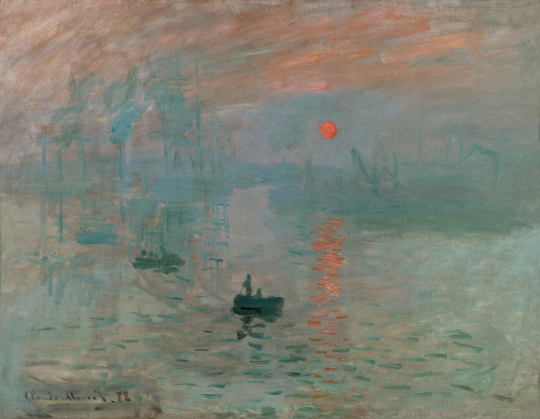 Claude Monet - Impression(Sunrise)