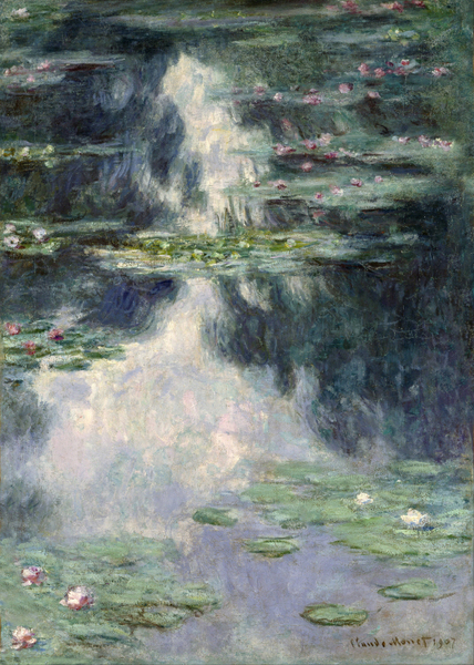 Claude Monet - Pond with Water Lilies