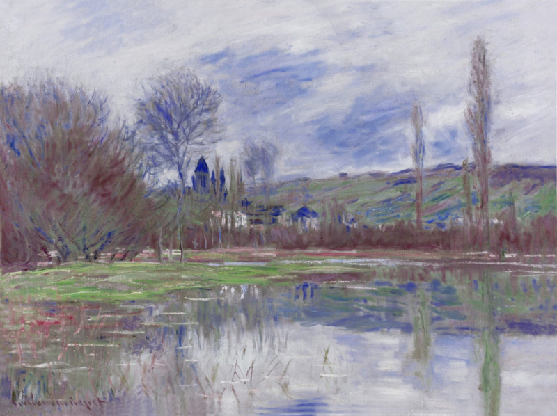 Claude Monet - PRINTEMPS A VETHEUIL