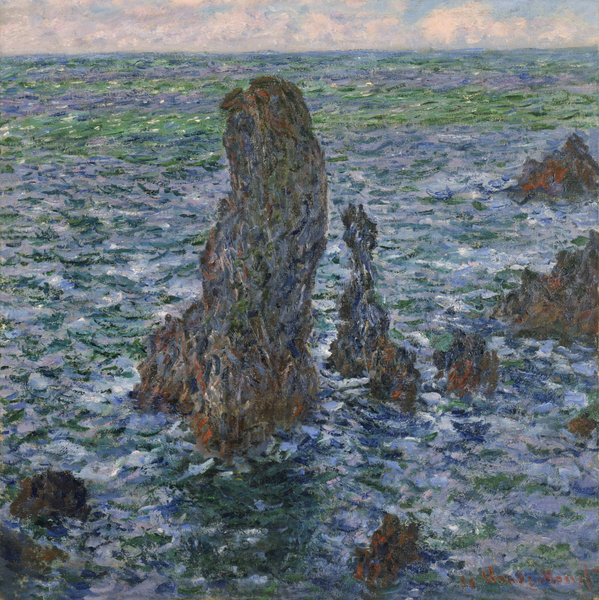 Claude Monet - Pyramides Port Coton