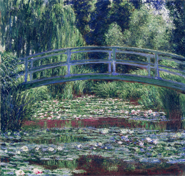 Claude Monet - The Japanese Bridge (The Water Lily Pond)
