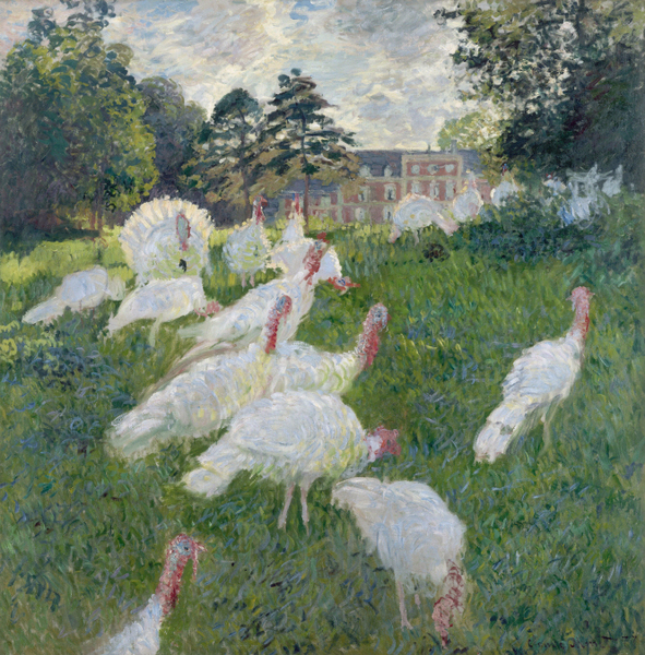 Claude Monet - The Turkeys, 1876