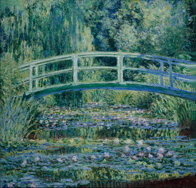 Claude Monet - Water Lilies and Japanese Bridge