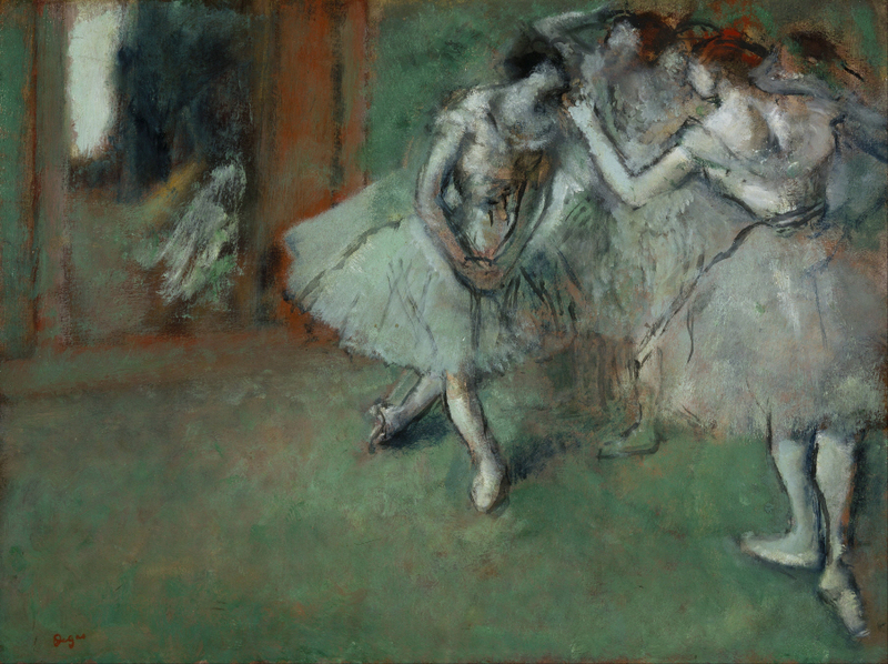 Edgar Degas - A Group of Dancers