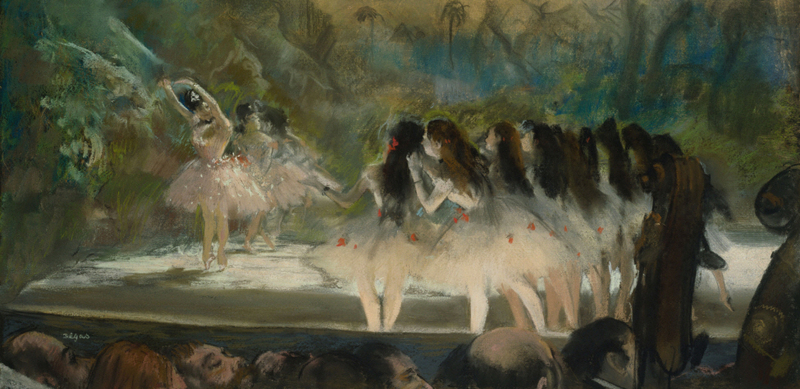 Edgar Degas - Ballet at the Paris Opéra (2)
