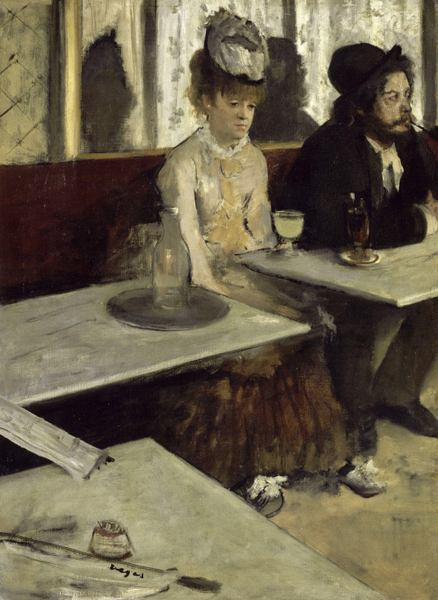 Edgar Degas - In a Café