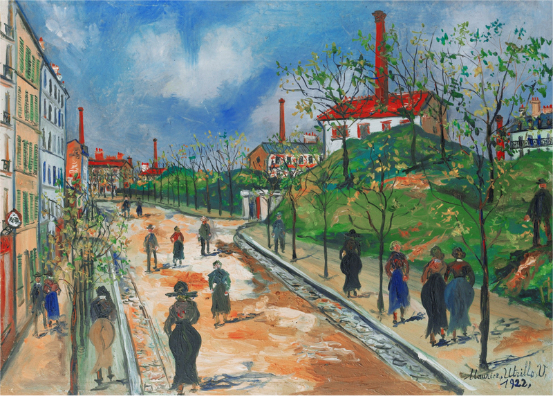 Maurice Utrillo - LES FORTIFICATIONS DE PARIS