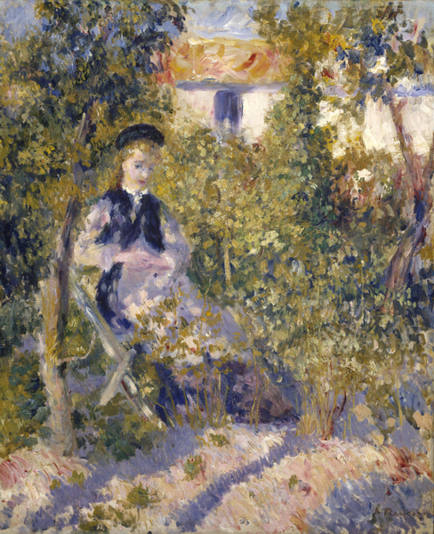 Pierre-Auguste Renoir - Nini in the Garden