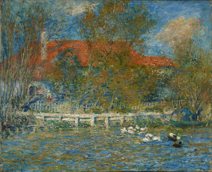 Pierre-Auguste Renoir - The Duck Pond