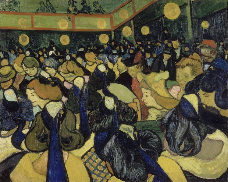 Vincent van Gogh - The Dance Hall in Arles