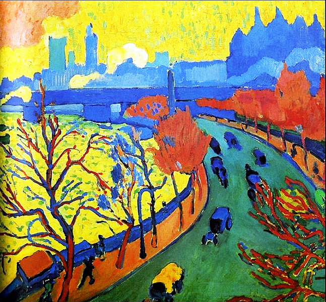 André Derain - Charing Cross Bridge  1880-1954