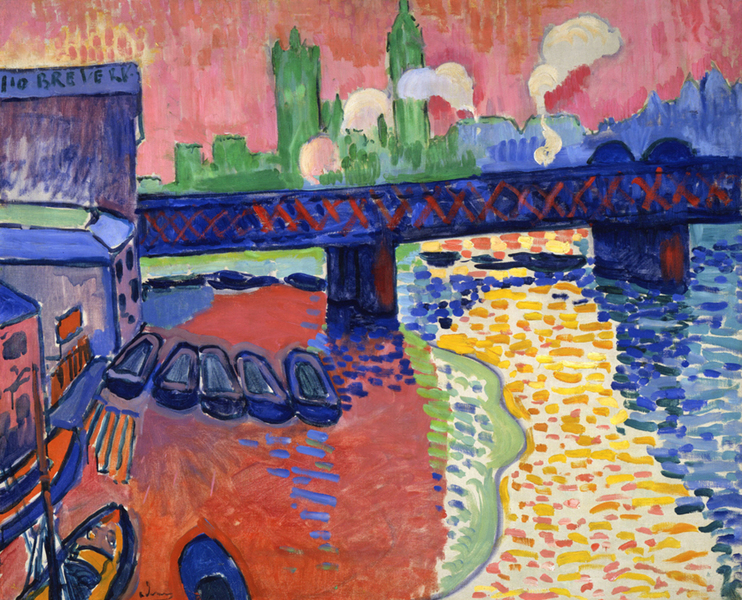 André Derain - Charing Cross Bridge  1880-1954_1