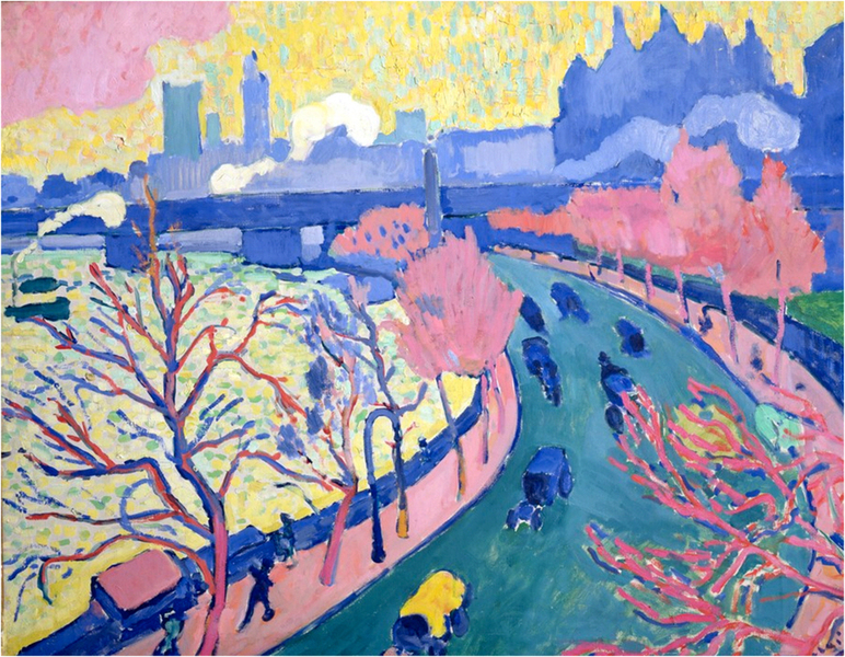 Andre Derain - Charing Cross Bridge