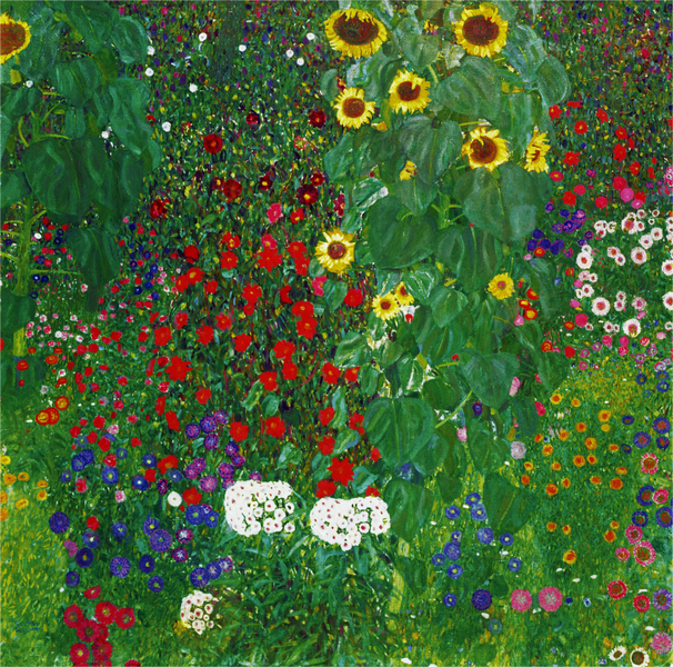 Gustav Klimt - BREWERY GARDEN AT LITZLBERG ON THE ATTERSEE