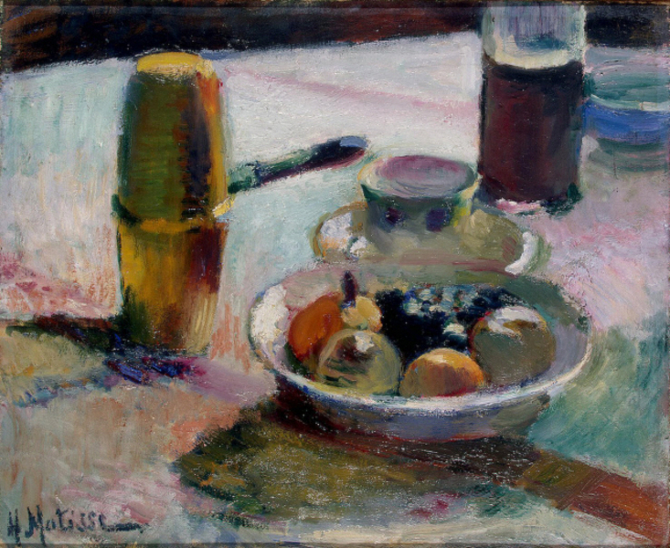 Henri Matisse - Fruit and Coffeepot (1898)