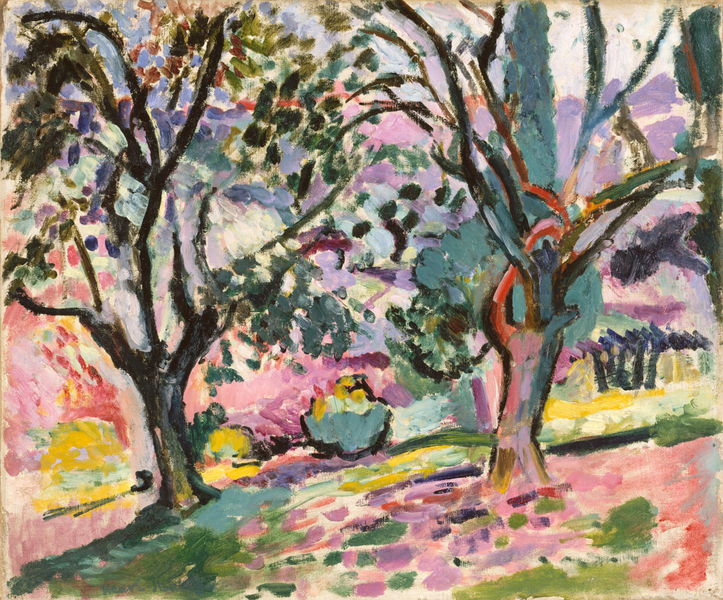 Henri Matisse - Promenade among the Olive Trees