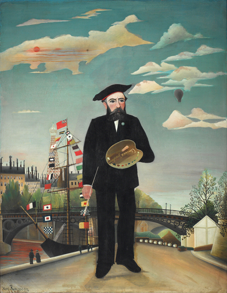 Henri Rousseau - Myself Portrait