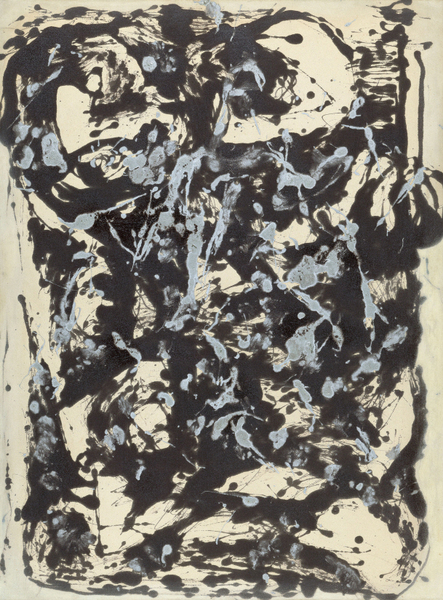 Jackson Pollock - Brown and Silver I