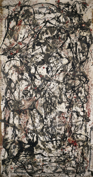 Jackson Pollock - Enchanted Forest