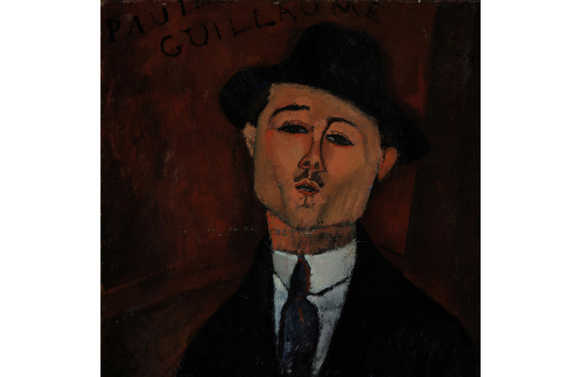 Amedeo Modigliani - Paul Guillaume, Novo Pilota-1