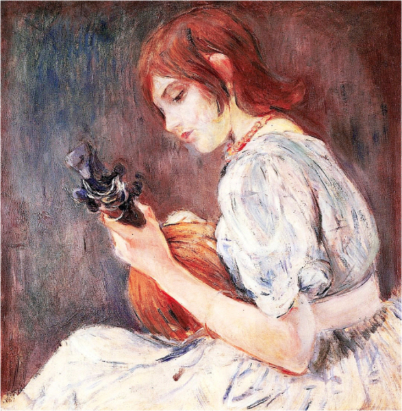 Berthe Morisot - The Mandolin