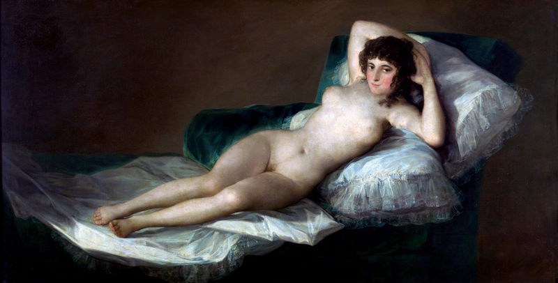 Francisco de Goya - The Nude Maja