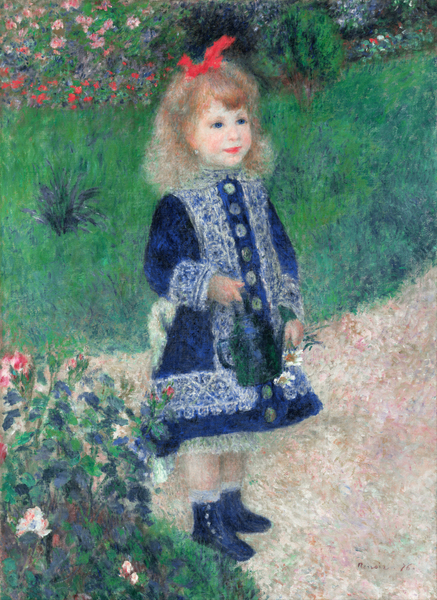 Pierre-Auguste Renoir - A Girl with a Watering Can