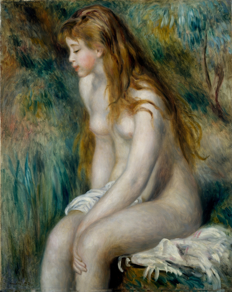 Pierre-Auguste Renoir - Young Girl Bathing