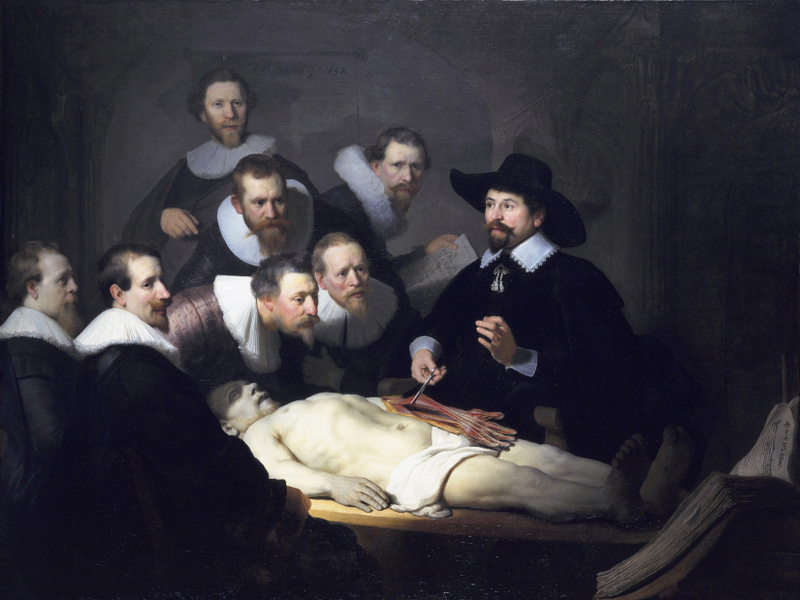 Rembrandt Harmenszoon van Rijn - The Anatomy Lesson of Dr. Nicolaes Tulp