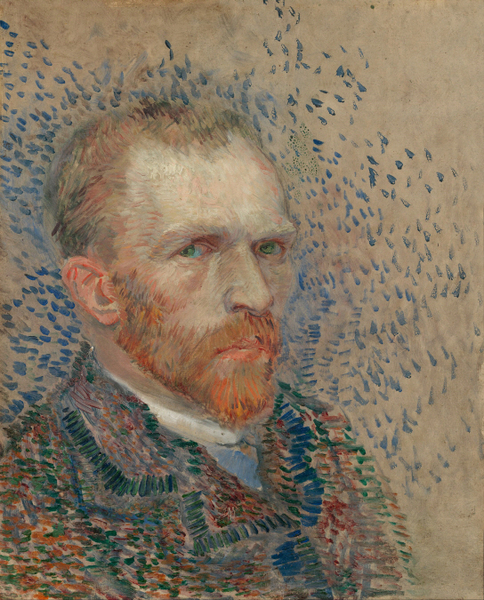 Vincent van Gogh - Self-portrait (6)