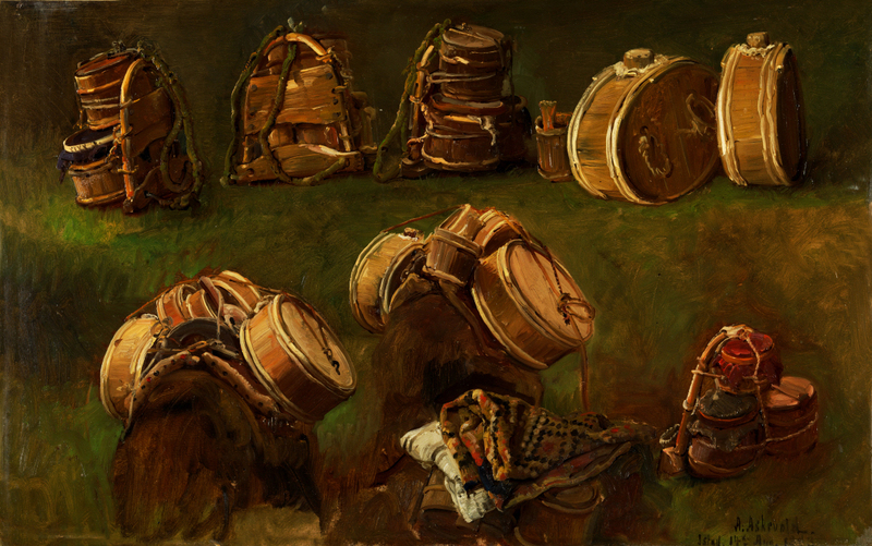 Anders Askevold - Study of Pack Saddles and other Objects