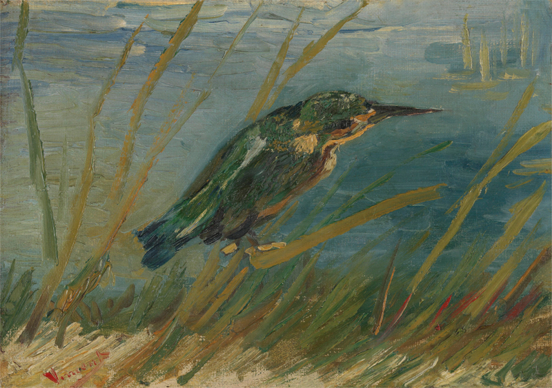 Vincent van Gogh - Kingfisher by the Waterside
