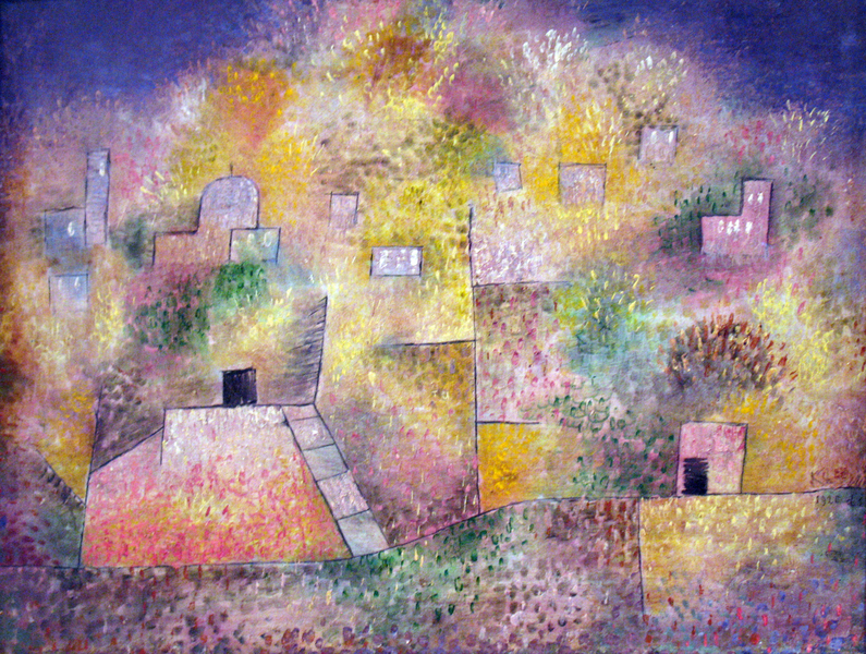 Paul Klee - Oriental pleasure garden anagoria