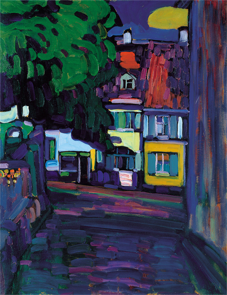 Wassily Kandinsky - Houses in the Obermarkt