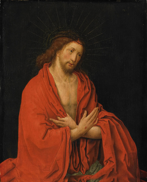 After Lucas van Leyden - Christ crowned with thorns