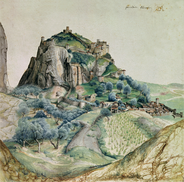 Albrecht Dürer - View of the Arco Valley in the Tyrol