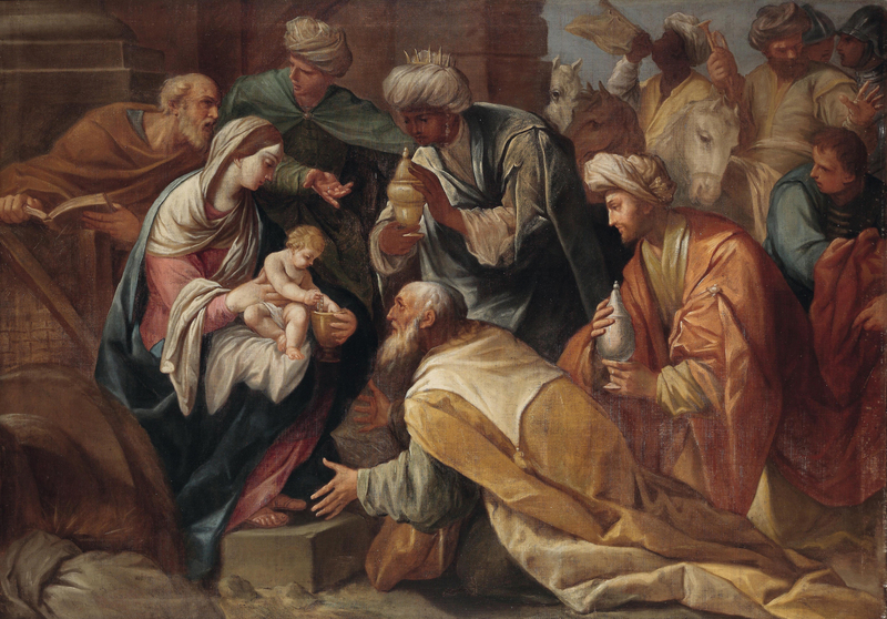 Anonymous - Adoration of the Magi