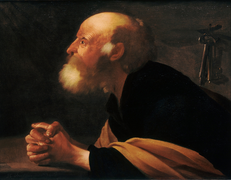 Hendrick ter Brugghen - The Repentant Peter