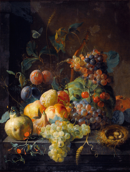 Coenraet Roepel - Still Life with fruit