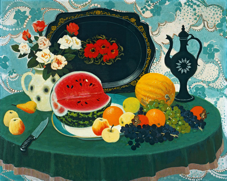 Nenartovich Anatoly - Still life with water mellon