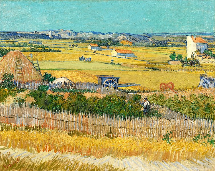 Vincent van Gogh - The Harvest 73.4 cm x 91.8 cm