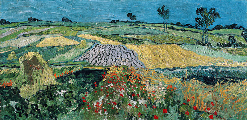 Vincent van Gogh - The Plain of Auvers