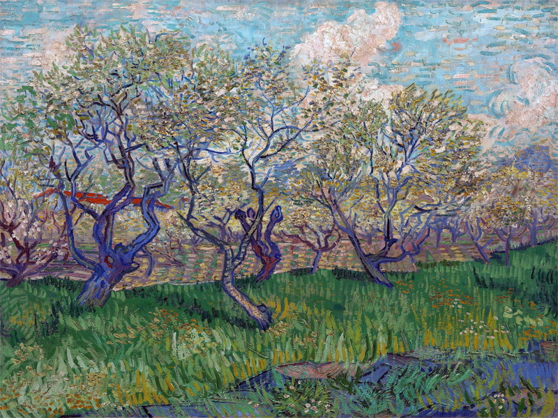 Vincent van Gogh - Orchard in Blossom 73