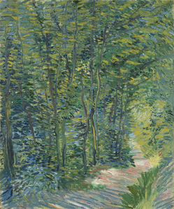 Vincent van Gogh - Path in the Woods (3)